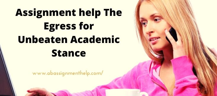 Assignment help The Egress for Unbeaten Academic Stance